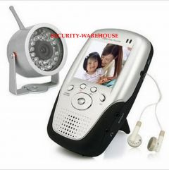 2.4GHz wireless monitoring suits Handheld wireless receiving screen Wireless night vision camera night vision
