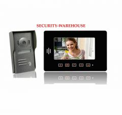 Practical 7 video intercom doorbell touch-key household household color visual color night vision