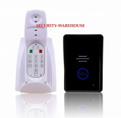 Non-visual intercom doorbell 2 4 G wireless home wireless doorbell touch-key double batteries a bracket
