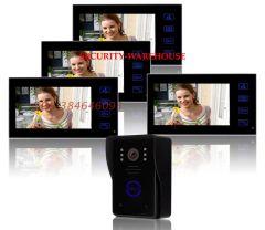 Exclusive new 7 video intercom doorbelltablet visible interphonenight visionrain four