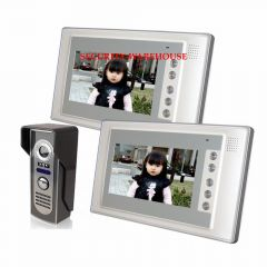 Blunt drill mountain a 7 inch hands-free color cable visual doorbell Household villa video intercom doorbell yituo 2