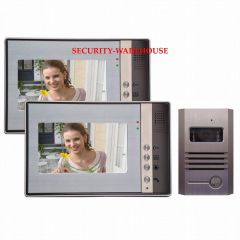 Dutch auction villa type yituo two household color visual 7 inch video intercom doorbell +night vision