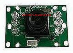 SHARP color chip camera module Household color visible CCD camera 38 * 54 standard size