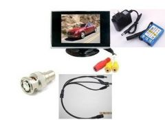 3.5 inches-inch high-definition screen super-affordable video monitor tester Engineering Po Security Tester +12V output