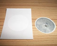 ISO14443A protocol 13.56MHz HF RFID HF RFID stickers can be affixed 30MM round