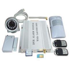 MMS 4 Band GSM Security Alarm System PIR Camera DVR SD