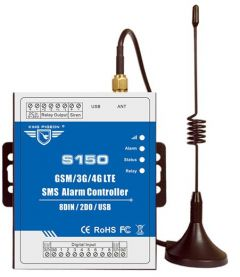 GSM SMS alarm Controller used for GSM Access Control System GSM Gate Opener Automatic monitoring Valve control