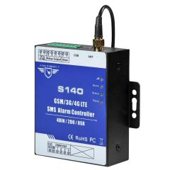 GSM 4G SMS alarm Controller used for GSM Access Control System  GSM Gate Opener Automatic monitoring valve control