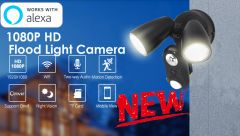 AI Floodlight camera-Watch and bright your smarthome