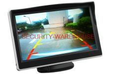 5-inch high-definition monitor or automobile rearview video display 800 * 480