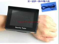 4 3-inch screen 2200mAh battery 12V output security video monitor tester STest send Toolkit line