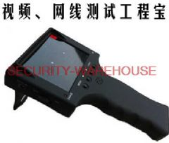 Free shipping STest video network cable tester 12V output 3.5 inches-inch high-definition screen Lifetime Warranty