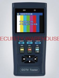 Free shipping STest YST-V30 video monitor tester 2 8 inch screen 12V1A output monitoring treasure