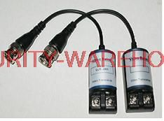 Passive UTP Balun for CCTV Security Camera Cat 5 Video Transmission distance 300 m BNC