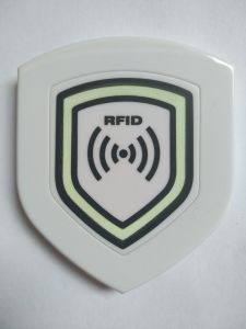 RFID 125KHz Checkpoint for Patrol Guard Tour White Shield Waterproof