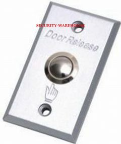 Aluminum strip out switch exit button