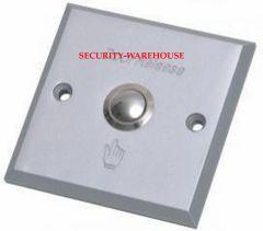 Aluminum square out switch exit button 86x86 Plain +Finger Logo
