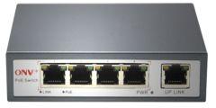 4+1 Port 10/100M POE Switch