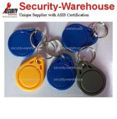RFID 125 KHz Rewriteable Tag Key Ring T3 Temic T5577 Assorted Color