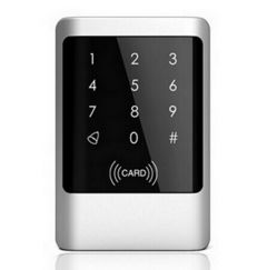 Metal Waterproof RFID 13.56MHz Card Reader PIN Code Keypad Door Access Controller