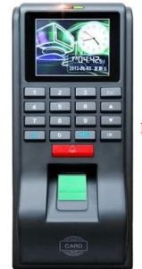 RFID 125KHz Based Access Control + Time Attendance + Fingerprint + PIN +Keypad TFT Color Display Standalone TCP/IP