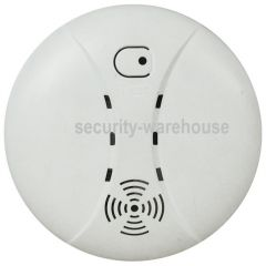 Dual Sense Heat & Smoke Fire Detector for Wired Home Security Alarm