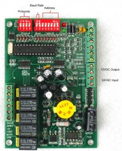 RS485 Decoder Board for CCTV Security Camera PTZ Control PELCO