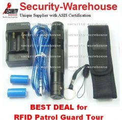 RFID 125Khz Patrol Guard Tour Monitoring System Offline Portable Durable CH168 5 Year Warranty