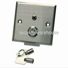 Stainless Alloy Open Lock Button 86x86 +Key