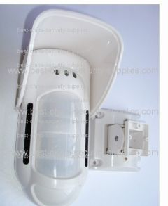 Outdoor Wired Dual Infrared & Microwave Motion Detector for GSM Burglar Alarm