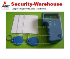 Portable Handheld RFID Copier + 125K EM4100 Rewritable card & tag