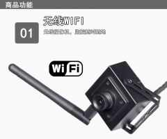 Mini CCTV Network P IP 1 Megapixel Camera for Security and Surveillance WIFI Mobile