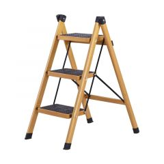 Multifunctional Anti- Slip  Ladder   3 Tread Safe  Step Ladder Portable Step Stools with Tool Tray