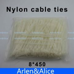 100pcs 8mm*450mm Nylon cable ties