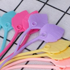 10Pcs/Set Reusable Silicone Wire Cable Ties Organizer Food Bag Sealing Beam Tie