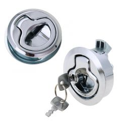 2 Size Lock of Car Doors Bathroom Drawer Cabinet Handle Knot Pull Car Accessories Furniture Handle