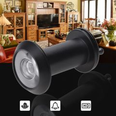 200 Degree Peephole Door Viewer Home Security Wide Angle Door Eyes Anti-Theft Pure Copper Peephole