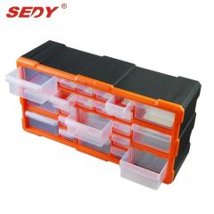 22 Drawers Storage Cabinet Tool Box Chest Case Plastic Organiser Toolbox Bin