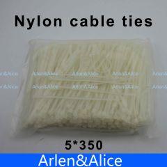 250pcs 5mm*350mm Nylon cable ties