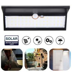 46 LED Solar Power SMD 2835 Light Sensor PIR Motion Sensor LED Solar Light Waterproof Outdoor LED Ga