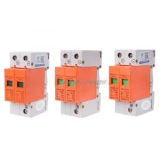 DC 1000V 500V 20KA~40KA 2 P 2 pole SPD House Surge Protector Protective Low-voltage Arrester Device