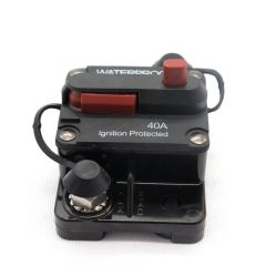 F433 Circuit Breaker Surge Protector Waterproof Flush-Mount Switchable With Manual Reset for Car