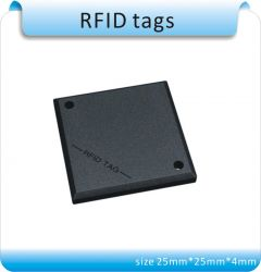 Free shipping 100pcs black City of optical fiber / sewer 125KHZ RFID Manage tags /EM4305 chips