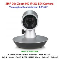 H.265 2mp 20x Zoom 3G-SDI IP Mini Video Conference Camera Support RTSP RTMP VISCA PELCO Protocols