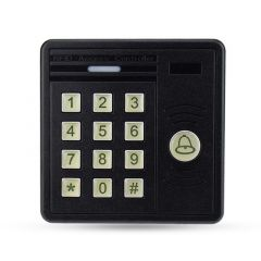 IP43 waterproof RFID keypad standalone access control board 125KHz smart lock card reader for door a