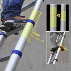 JJS511 High Quality Thickening Aluminium Alloy Herringbone Ladder Portable Household Telescopic