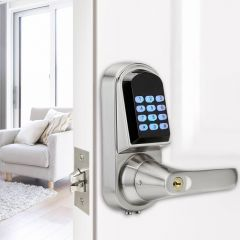 Keyless Bluetooth Digital Door Lock Mini Electronic Keypad Smart Door Lock control door lock wireles