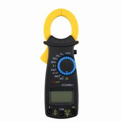 LCD Digital Clamp Multimeter AC DC Volt Voltage Amp Ohm Electronic Tester Meter W329