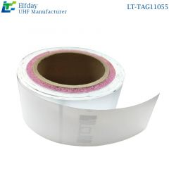 LT-TAG11055 Washed cloth label RFID tag FID clothing standard electronic label Self-adhesive cloth
