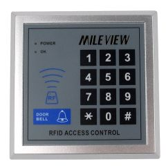 MILEVIEW Rfid Door Access Control System Kit Set + Electric Magnetic Door Lock +Rfid Keypad + Exit B
